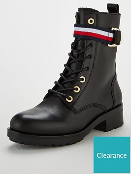 tommy-hilfiger-corporate-ribbon-biker-boots-black