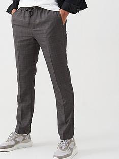 v-by-very-slim-smart-check-trousers-grey