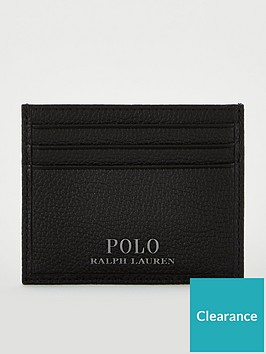 polo-ralph-lauren-pebbled-leather-card-holder-black
