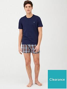 polo-ralph-lauren-shortie-pyjama-set-navy