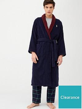 polo-ralph-lauren-jacquard-logo-robe-navymaroon