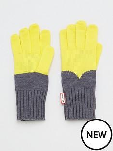 hunter-colour-block-gloves-lightening-yellowgrey