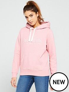 jack-wills-hunston-embroidered-graphic-hoodienbsp--pink-marl