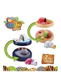 flip-a-zoo-flipazoo-world-micro-playset-and-mini-figure-set-2-asst