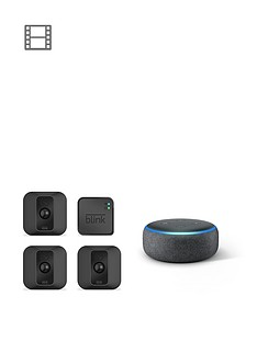 blink-xt2-3-camera-system-with-echo-dot-3rd-gen-charcoal