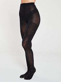 pretty-polly-star-tights-black