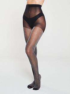 pretty-polly-lurex-chevron-tights