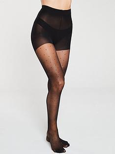 pretty-polly-lurex-pinspot-tights-black