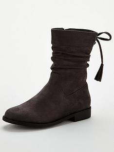 v-by-very-girls-slouch-tassel-boots-grey
