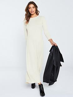 v-by-very-ribbed-jersey-maxi-dress-ecru
