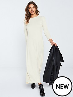 v-by-very-ribbed-jersey-maxi-dress-ecru