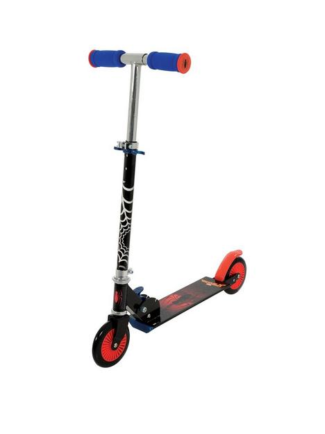 spiderman-in-line-scooter