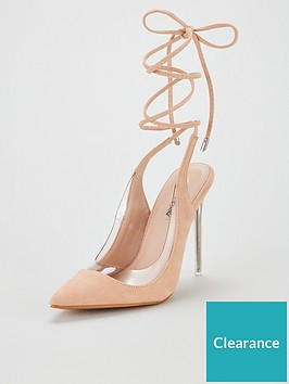 public-desire-public-desire-clarity-ankle-tie-heeled-shoe