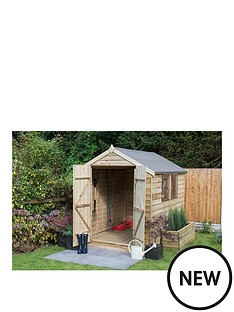 forest-overlap-pressure-treated-8x6-apex-shed