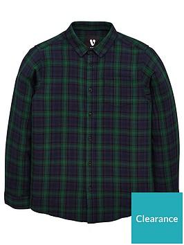 v-by-very-boys-long-sleeve-check-shirt-green