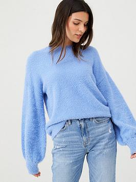 v-by-very-fluffy-crew-neck-jumper-chambray-blue