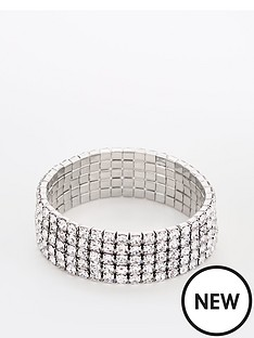 v-by-very-rhinestone-stretch-bracelet-silver