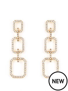 v-by-very-interlocking-rhinestone-drop-earring-gold