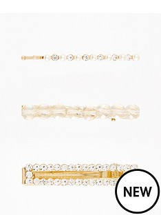 v-by-very-facet-and-rhinestone-hair-clip-pack-gold