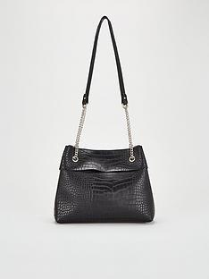 v-by-very-jessie-black-croc-strap-shoulder-bag
