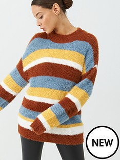 v-by-very-fluffy-wide-stripe-jumper-multi