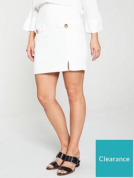 river-island-pocket-a-line-skirt-white