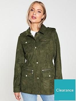 river-island-suedette-army-jacket-khaki