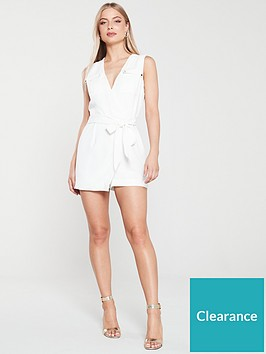 river-island-wrap-playsuit-white