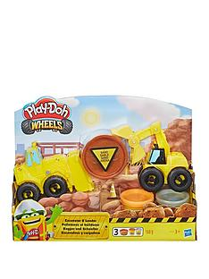 play-doh-play-doh-wheels-excavator-and-loader-toy-construction-trucks-with-non-toxic-play-doh-sand-buildin-compound-plus-2-additional-colours