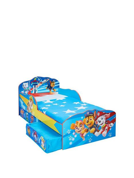 paw-patrol-toddler-bed-with-storage-drawers-by-hellohome