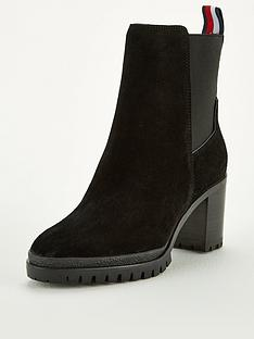 tommy-hilfiger-sporty-mid-heel-chelsea-boots-black