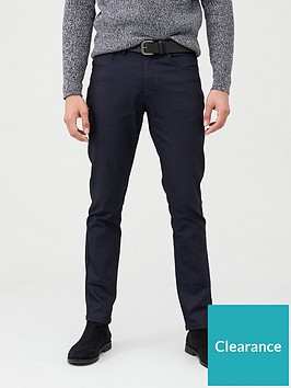 very-man-belted-coated-jeans-blue