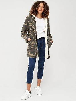 v-by-very-camo-print-canvas-parka-with-removable-fleece-lining-khaki