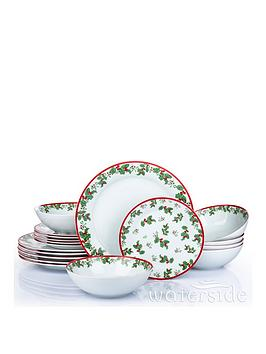 waterside-christmasnbspholly-18-piece-dinner-set
