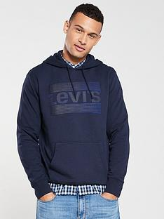 levis-graphic-hoodie-navy