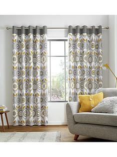 catherine-lansfield-annika-eyelet-curtains