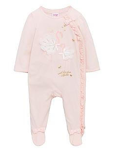 baker-by-ted-baker-baby-girls-flamingo-print-sleepsuit-light-pink