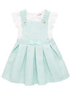 baker-by-ted-baker-toddler-girls-pique-pinny-amp-t-shirt-outfit-green