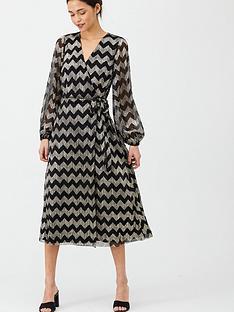 v-by-very-lurex-chevron-wrap-dress-metallic