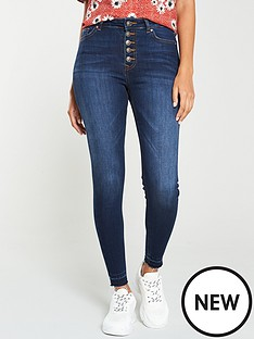 v-by-very-kasinbspbutton-front-skinny-jean-dark-indigo