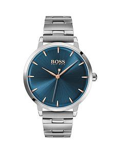 boss-boss-blue-sunray-and-silver-detail-dial-stainless-steel-bracelet-ladies-watch