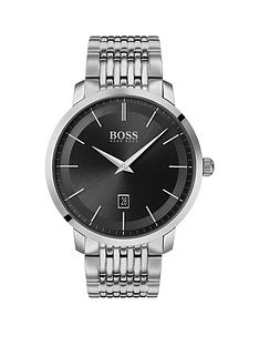 boss-boss-classic-black-sunray-date-dial-stainless-steel-bracelet-mens-watch