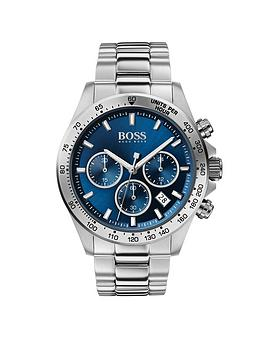 boss-hero-sport-lux-blue-sunray-chronograph-dial-stainless-steel-bracelet-mens-watch