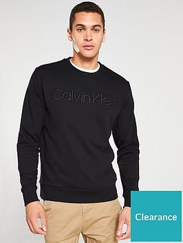 calvin-klein-logo-sweatshirt-black