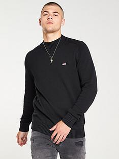 tommy-jeans-funnel-neck-jumper-black