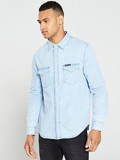 calvin-klein-jeans-modern-western-long-sleeve-shirt-iconic-everestnbsp