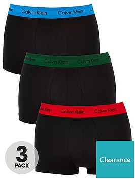 calvin-klein-three-pack-low-rise-trunks-black