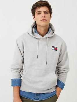 tommy-jeans-tommy-badge-hoodie-grey