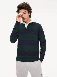 tommy-hilfiger-iconic-block-stripe-rugby-shirt-greenblue