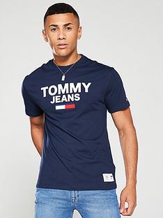 tommy-jeans-novelty-corp-logo-t-shirt-navy-blue